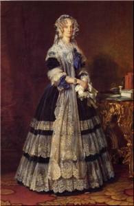 Queen-Marie-Amelie-People-Oil-Painting-AB04196
