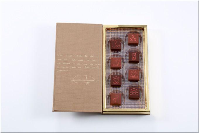 57d68999a86a 前回のキューブ状の新作ボンボンショコラの表面に施された絵柄には、それぞれジャン=ポール・エヴァンの30周年の思いやバレンタインらしい愛についてのメッセージが  ...