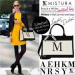 ミストゥーラ(mistura)のイニシャルバッグが可愛い!トートやリュック、ディズニー&スヌーピー、芸能人コラボも人気♪口コミや店舗などブログでまとめ!