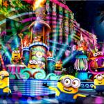 USJ【ナイトパレード】感想や口コミ、見どころは?特別鑑賞スポット&おすすめの場所やチケット情報☆ミニオン、ハリーポッター、トランスフォーマー、ジュラシックワールド‥ユニバは夜盛り上がる!